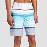 Mossimo Men's Hybrid Swim Shorts Saltwater Aqua