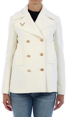 Valentino Wool Caban White