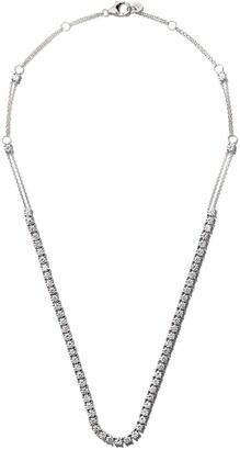 Riviera 18kt white gold diamond necklace