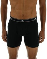 adidas Men's Relaxed Cotton Climalite 2-Pack Boxer Briefs