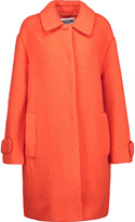 Moschino Embroidered wool-blend coat