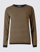 Classic Striped Round Neck Jumper