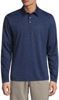 ST. JOHN'S BAY St. John's Bay Long Sleeve Solid Performance PoloShirt