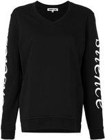 McQ by Alexander McQueen Senseless Silence sweatshirt - women - Cotton - XS