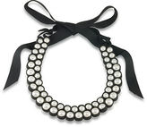 1st And Gorgeous Faux Pearl Bib Necklace