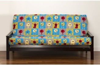 "Crayola Monster Friends Futon Cover - 54""w x 75""l x 6""h"