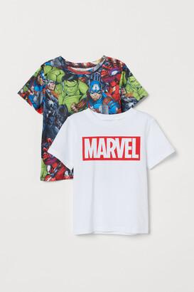 H&M 2-pack Printed T-shirts