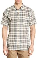 Patagonia Men's 'A/c' Regular Fit Organic Cotton Short Sleeve Sport Shirt