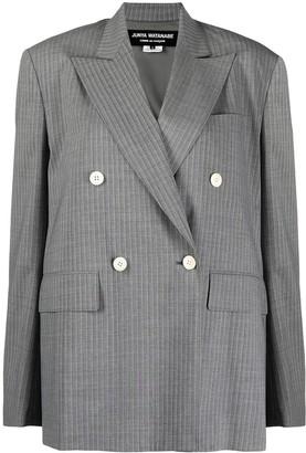 Junya Watanabe Open-Back Double-Breasted Jacket
