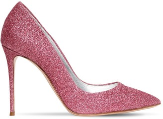 Casadei 100mm Glittered Pumps