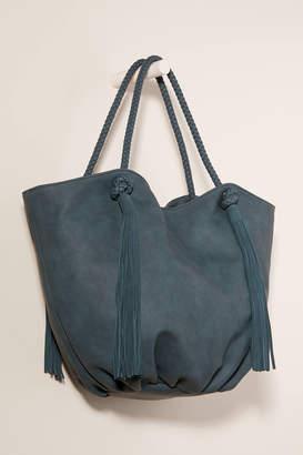 Anthropologie Morgan Tasseled Tote Bag
