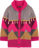 Catimini Wool coat with a fleece lining