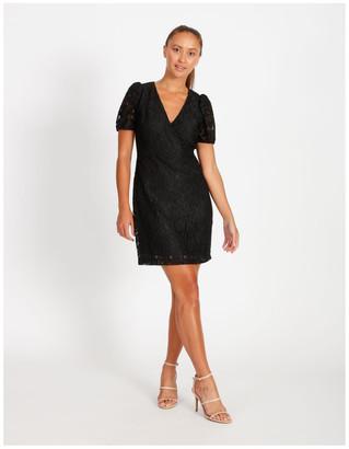 Tokito Puff Sleeve Lace Mini Dress