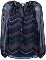 Diane von Furstenberg tassel detail blouse - women - Silk/Polyester - 6
