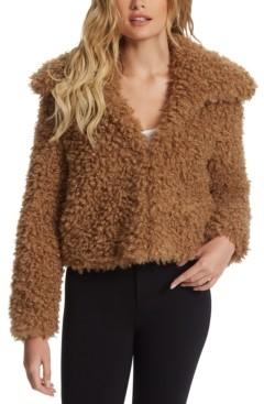 Jessica Simpson Sasha Faux-Fur Jacket
