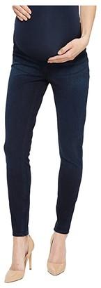 Spanx Mama Ankle Jean-ish Leggings (Twilight Rinse) Women's Clothing