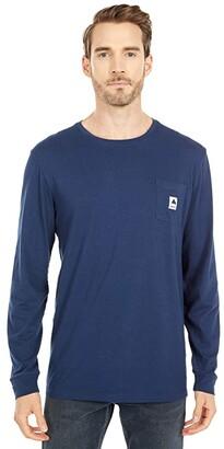 Burton Colfax Long Sleeve T-Shirt (Gray Heather) Clothing