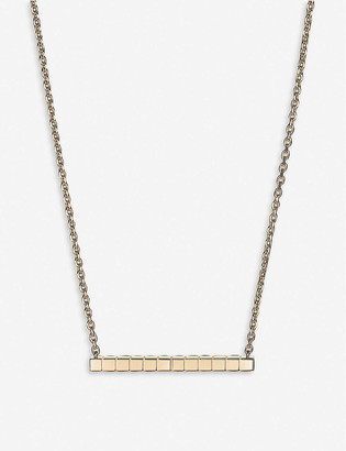Chopard Ice Cube Rock 18ct rose-gold and diamond necklace