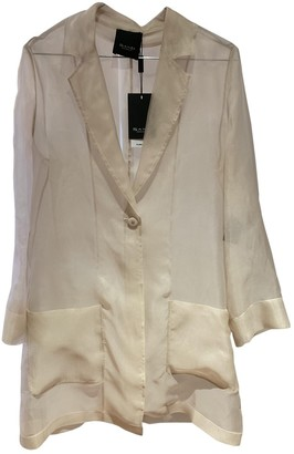 Sand Beige Silk Jacket for Women