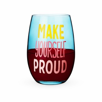 Blush Lingerie Make Yourself Proud Stemless Wine Glass One