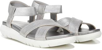 Naturalizer Leather Cross-Strap Sport Sandal - Lily