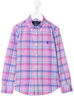 Ralph Lauren Kids Check Print Shirt
