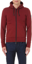 Armani Jeans Quilted-detail hoody