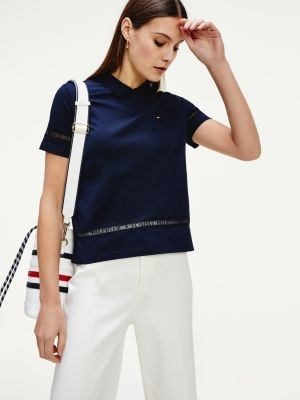 Tommy Hilfiger TH Cool Lace Panel Polo