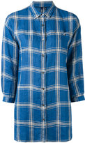 Woolrich checked shirt - women - Linen/Flax - S