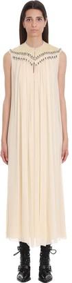 Chloé Dress In White Silk