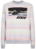 Kenzo Rainbow Tie Dye Sweater