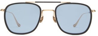 Matsuda Aviator Titanium Sunglasses - Blue