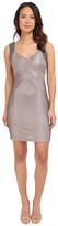 Calvin Klein Beaded Shoulder Pin Tuck Sheath Dress CD5B2A52