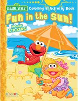 Sesame Street Fun in the Sun Activity Book