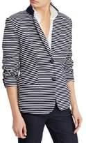 Lauren Ralph Lauren Petite Striped Long-Sleeve Jacket