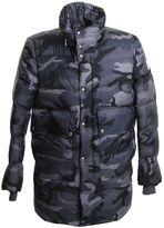 Moncler Gamme Bleu Blue Camouflage Nylon Jacket