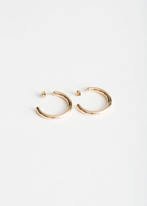 And other stories Thick Hoop Earrings