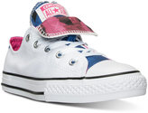 Converse Little Girls' Chuck Taylor All Star Double Tongue Americana Casual Sneakers from Finish Line