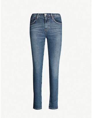 A Gold E AGOLDE Toni slim-fit mid-rise jeans