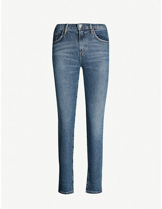 AGOLDE Toni slim-fit mid-rise jeans