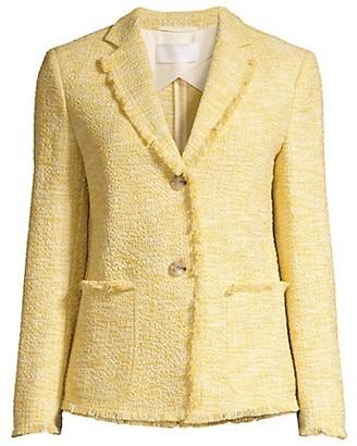 HUGO BOSS Jomanda4 Bubble Tweed Jacket