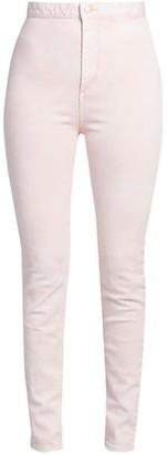 Isabel Marant Nikino Ankle-Tie Skinny Jeans