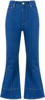Amapô crop flared jeans