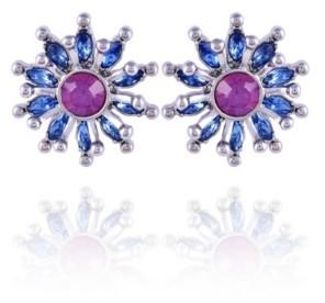 Nanette Lepore Extra Celestial Starburst Button Earrings