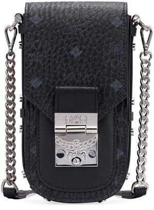MCM Patricia X-Mini Visetos Crossbody Bag