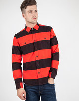 Edwin Labour Shirt Red