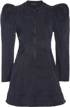 Ulla Johnson Wren Stretch Denim Dress