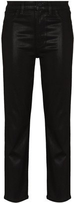 J Brand Alma faux-leather trousers