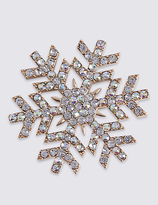 M&S Collection Snowflake Brooch