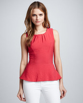 Alexis Walker Peplum Sleeveless Top